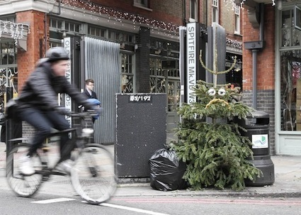 Artist Turns Discarded Christmas Trees Into Funny, Googly-Eyed Street Art - DesignTAXI.com | INTRODUCTION TO THE SOCIAL SCIENCES DIGITAL TEXTBOOK(PSYCHOLOGY-ECONOMICS-SOCIOLOGY):MIKE BUSARELLO | Scoop.it