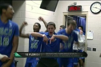 Florida Gulf Coast team manager is the star of the locker room. | the big dance | Scoop.it