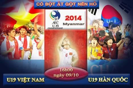 U19 VIỆT NAM VS U19 HÀN QUỐC, vượt ải khó khăn nhấ | lich thi dau bong da | Scoop.it