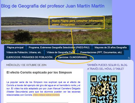 Blog de Geografía del profesor Juan Martín Martín: Ejercicios: CLIMOGRAMAS, | GeoTic | Scoop.it