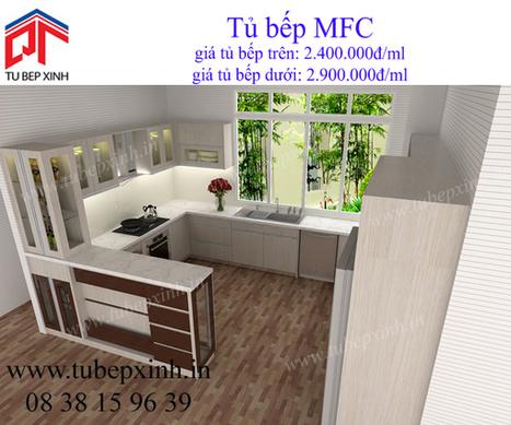 tủ bếp MFC, tu bep MFC, tủ bếp, tủ bếp Acrylic, kệ bếp đẹp | TỦ BẾP ACRYLIC - GIÁ TỦ BẾP ACRYLIC | Scoop.it