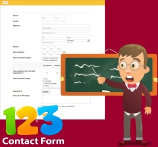 123ContactForm – Create custom online education forms and quizzes as easy as 1-2-3! | Social zoo | Scoop.it