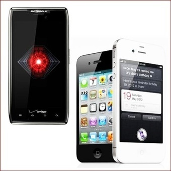 Motorola Droid Razr Maxx vs Apple iPhone 4S- Great Difference ... | Gadget Shopper and Consumer Report | Scoop.it