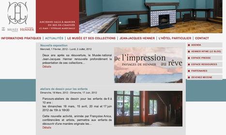 Jouez et créez vos toiles numériques au musée national Jean Jacques Henner | Clic France | Scoop.it