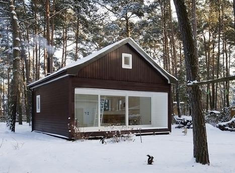 A gorgeous forest cottage in Berlin | Décorations en tous genres | Scoop.it
