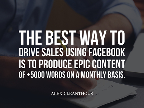 Powerful Facebook Marketing Tips From Respected Marketers | Channel Instincts | Scoop.it