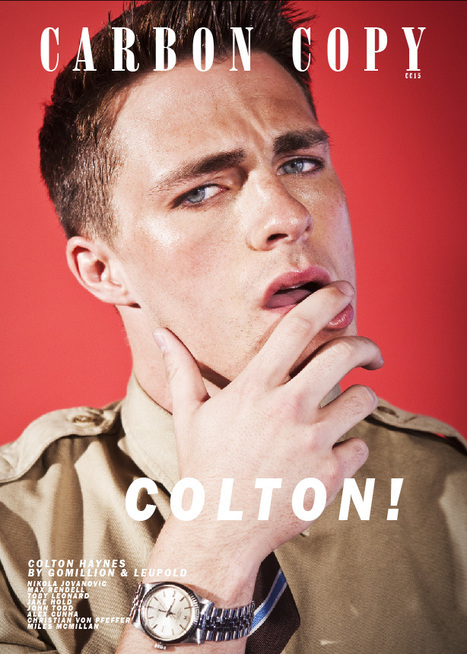 Colton Haynes for Carbon Copy #15 | THEHUNKFORM.NET | Scoop.it