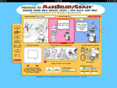 Make Beliefs Comix - A Multilingual Comic Creation iPad App - iPad Apps for School | Writing | Scoop.it