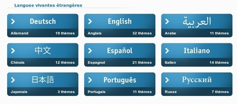 Langues en ligne : modules d'enseignement prêts à l'emploi | ENT | Scoop.it