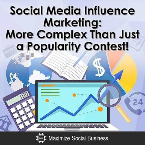 Social Media Influencer Marketing: More Than Just Popularity | digital marketing strategy | Scoop.it
