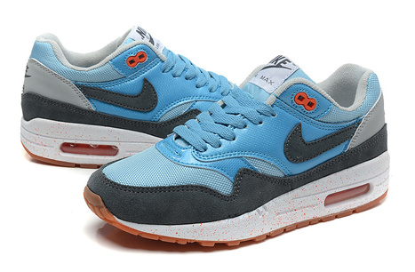 Nike Air Max 1 Womens Blue Black Grey White for Sale | Nike Basketball Shoes New Release | Scoop.it