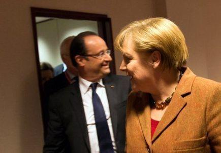 Rencontre Hollande-Merkel avant le sommet de l'UE - Libération | Actualité de la politique française | Scoop.it
