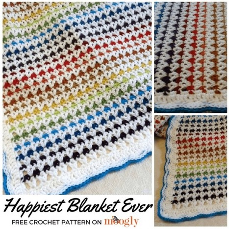 Happiest Blanket Ever - moogly | Spinning, Weaving and Knitting | Scoop.it