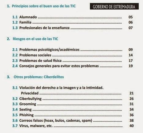 Guía para el buen uso de las TIC | TIC en el Aula | Scoop.it