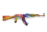 Damien Hirst 'Spin Paints' AK-47 for London Art Show | GalleristNY | Contemporary Art hh | Scoop.it