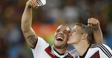 'I Just Won the World Cup. But First, Let Me Take a Selfie'   Sticky Marketing   Scoop.it