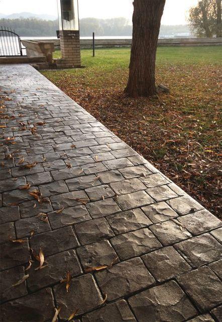 Štampani beton – izbor za Vaš prostor | Podovi | Scoop.it