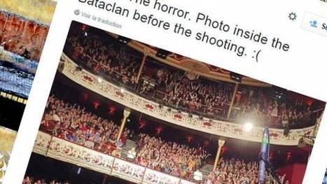 Les rumeurs prolifèrent après les attentats de Paris   FranceInfo   Désinformation   Scoop.it