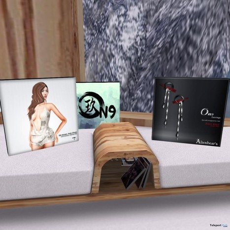 Silk Romper and Earrings Group Gifts at On9 | Teleport Hub - Second Life Freebies | Second Life Freebies | Scoop.it