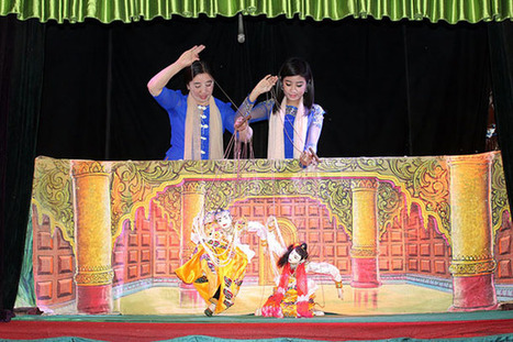 Burma's Puppeteers Put On Cross-Asean Performance | The Irrawaddy | Kiosque du monde : Asie | Scoop.it