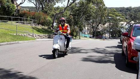 'Scooterists' rock classic rally at Bundeena | Vespa Stories | Scoop.it