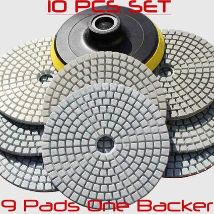 Dry Diamond Polishing Pads 4inch | Diamond Polishing Pads, STADEA | Scoop.it