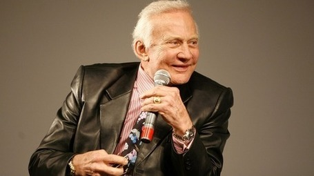 Buzz Aldrin Sings 'She Blinded Me With Science' | I Can Do That! | Scoop.it