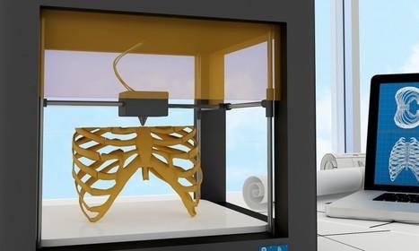 Una impresora 3D es capaz de generar tejido humano | TIC Beat | I didn't know it was impossible.. and I did it :-) - No sabia que era imposible.. y lo hice :-) | Scoop.it