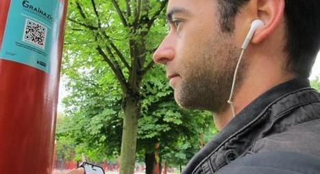 Testé pour vous : à Lille, j'ai flashé la playlist de la bibliothèque dans le parc Lebas | CommInBib | Scoop.it
