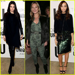 Kendall Jenner & Kate Moss: Topshop Unique Show at London ... | Fashion | Scoop.it
