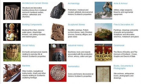 Historic Scotland collections online | Archaeology News | Scoop.it