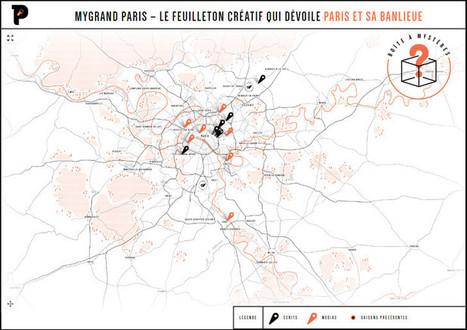 Les Mystères du Grand Paris, feuilleton artistique en ligne | We need new stories | Scoop.it
