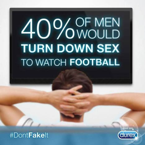 Homens preferem futebol ao SEXO | Sex Marketing | Scoop.it