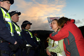 Tecoma McDonald's protester removed from roof | What are the key conflicts occurring in 2013 and where are they happening? | Scoop.it