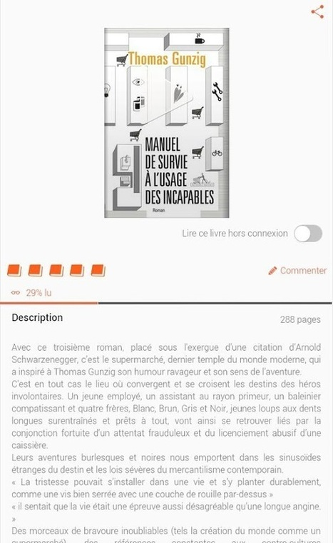 Youboox : Bibliothèque d'ebooks gratuits - Android MT | Actualité | Scoop.it