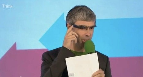Groom with a view? Larry Page wears Google Glass at wedding - CNET (blog)   Android   Scoop.it
