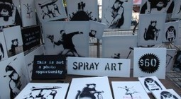 Banksy Sells His Artwork In Central Park For $60, Nobody Buys It | Painting | Scoop.it