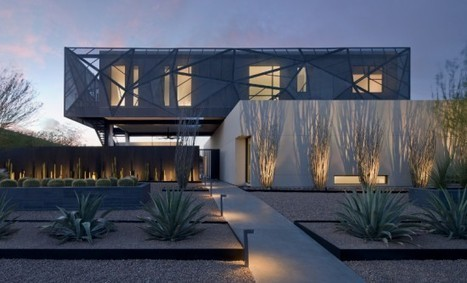 A Desert Oasis by assemblageSTUDIO | sustainable architecture | Scoop.it