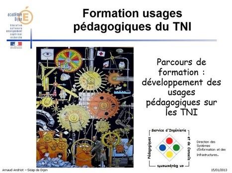 Parcours Pairform@nce sur le TNI : Académie de Dijon | TELT | Scoop.it