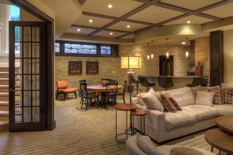 Basement Flooring Ideas   Home Decorating Ideas   Scoop.it