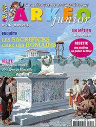 Arkéo junior, N°216, mars 2014 | Revue de presse du CDI du Collège Langevin d'Hennebont | Scoop.it