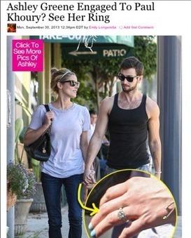 Ashley Greene NOT Engaged to Paul Khoury ... - Gossip Cop | gossip-fofocas | Scoop.it