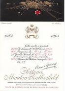 Château Mouton Rothschild, 1961 | vente de vins entre particuliers | Prix de vente : 2 197,00 € | Annonces vin particuliers | Scoop.it