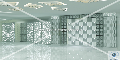 Pearl Grand Galaxy : A Crystal Themed Banquet Hall by FDS in East Delhi | Interior Designing Services | Scoop.it