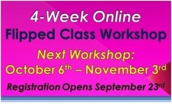 The Fall 2013 Online Flipped Class Workshop starts October 6 | Tech in Schools | Scoop.it