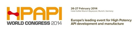 Europe's leading event for High Potency API development and manufacture | HPAPI | Antibody & Biosimilar | Scoop.it