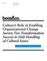 Culture's Role in Enabling Organizational Change | Recherche d'outils de bonheur pour et par le travail | Scoop.it