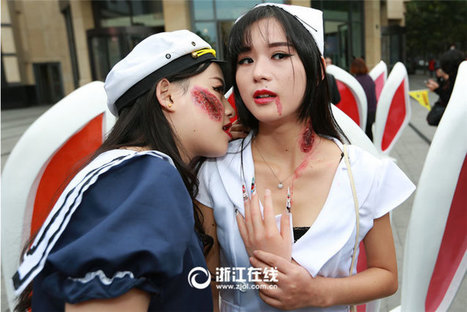 Do Chinese people run out of festivals to celebrate Halloween? - Free Talk - Chinadaily Forum | What Fascinates Me About China | Scoop.it