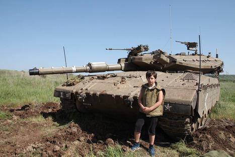 Otec vzal syny do Izraele, aby jim ukázal válku | Zamilovaný Ptakopysk | Scoop.it
