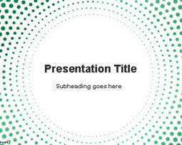 Circular Dots PowerPoint Template | Free Powerpoint Templates | Education | Scoop.it
